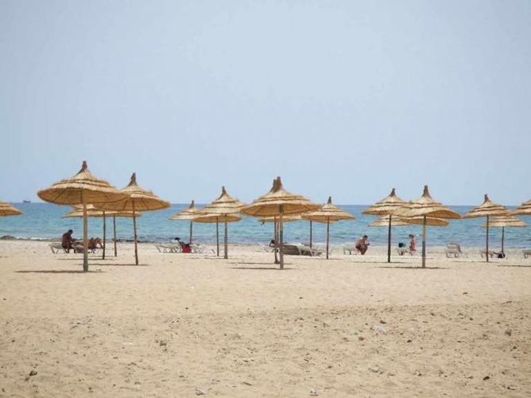 Hammamet beach   © Joffrey Lacour/Flickr