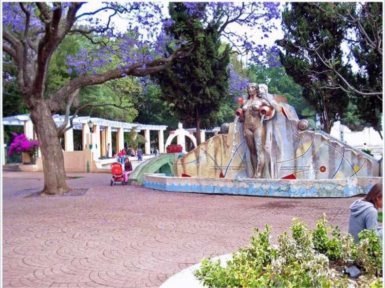 Fuente de Los Cantaros, Parque México | © Un Milonguero Mejicano/Flickr