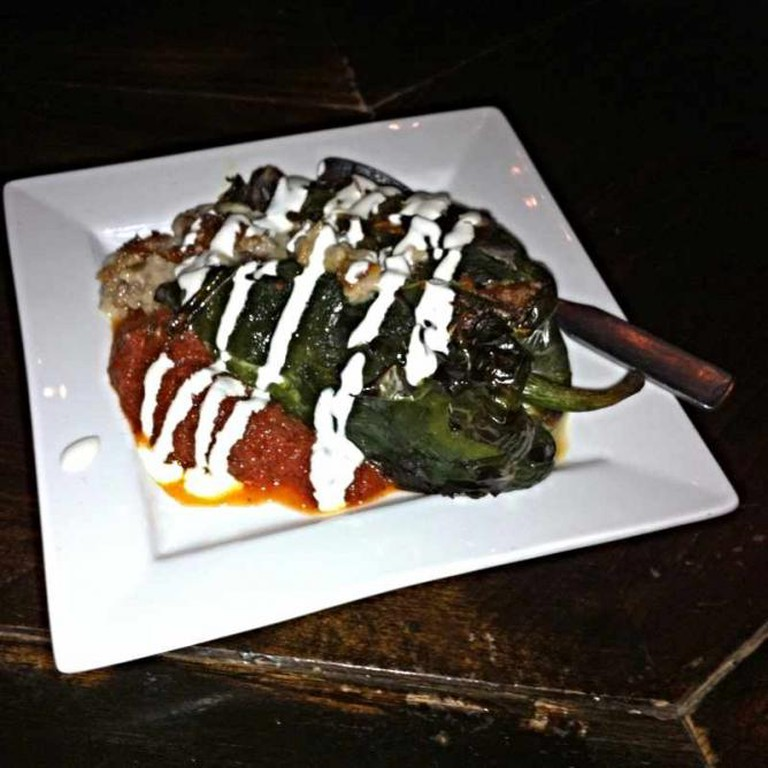 Stuffed Poblano Pepper at Dandelion Market