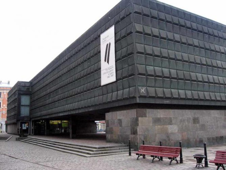 The Museum of the Occupation of Latvia's exterior | © Dezidor/Wikicommons