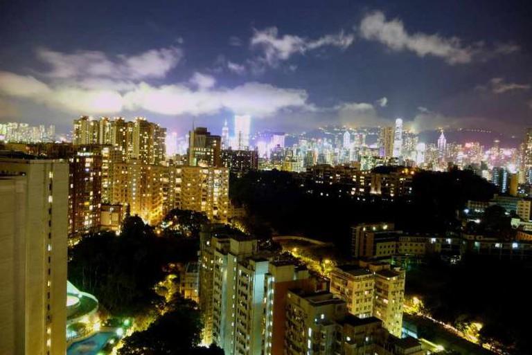 Hong Kong skyline © Chris/Flickr