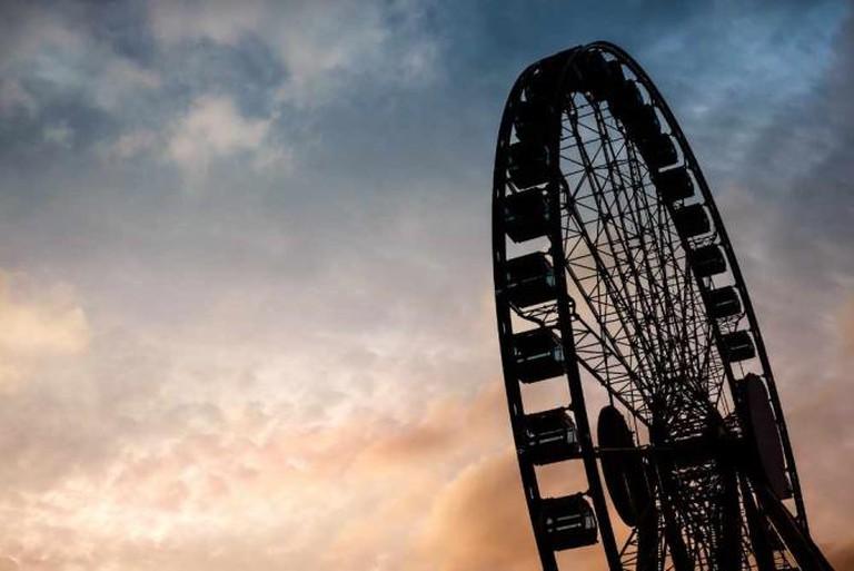 The wheel beside Central Pier © Kirill Ξ/Κ Voloshin/Flickr