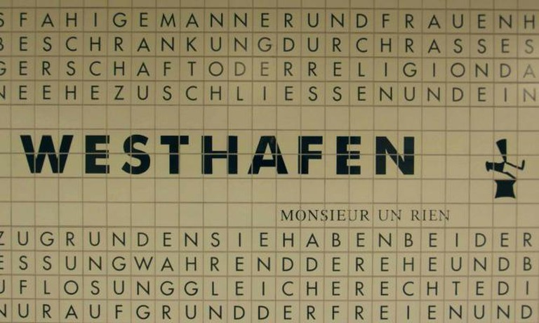 Westhafen U Bahn Station   ©Ingolfbln/Flickr