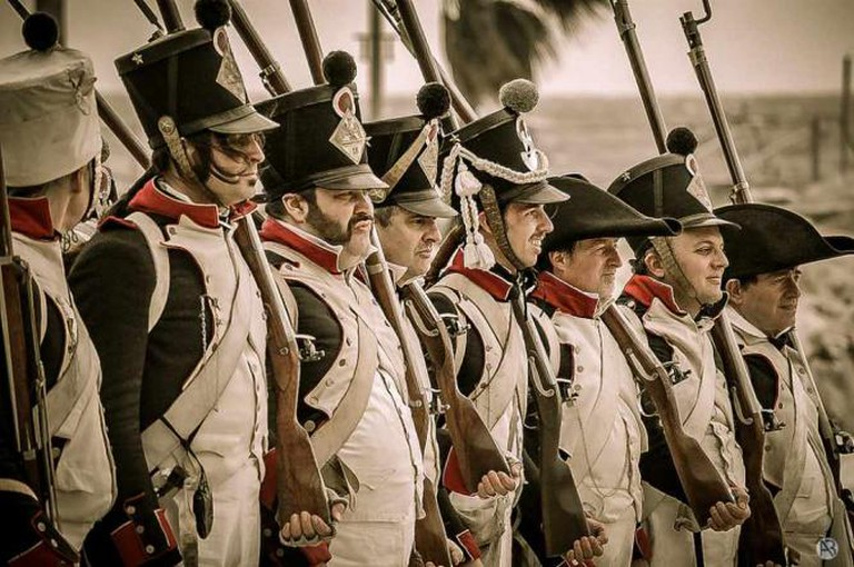 Napoleonic Soldiers | © Alessandro Baffa/Flickr