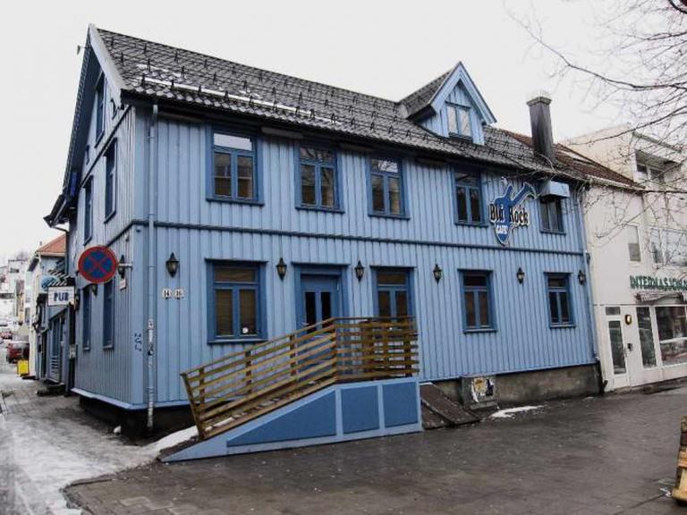 Blå Rock Café © Bernt Rostad/Flickr