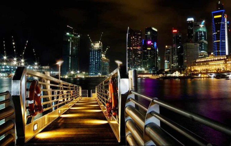 Singapore by night © William Cho/Flickr