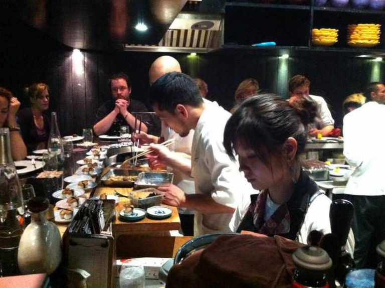 Chefs at work at Guilo Guilo