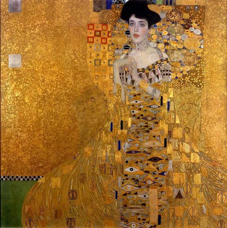 Portrait of Adele Bloch-Bauer by Gustav Klimt |© Aavindraa/WikiCommons
