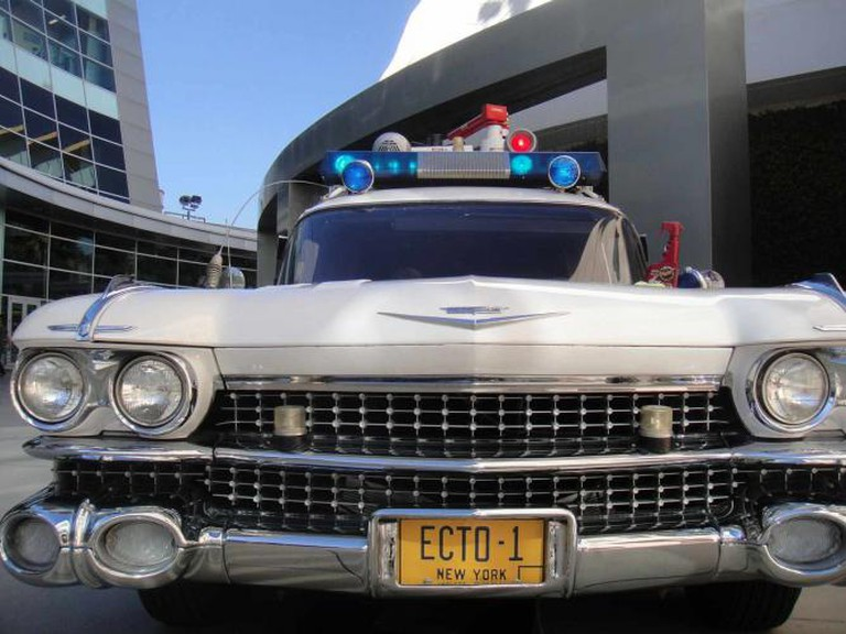 Ghostbusters ECTO1 at the Arclight Hollywood | © Doug Kline/WikiCommons
