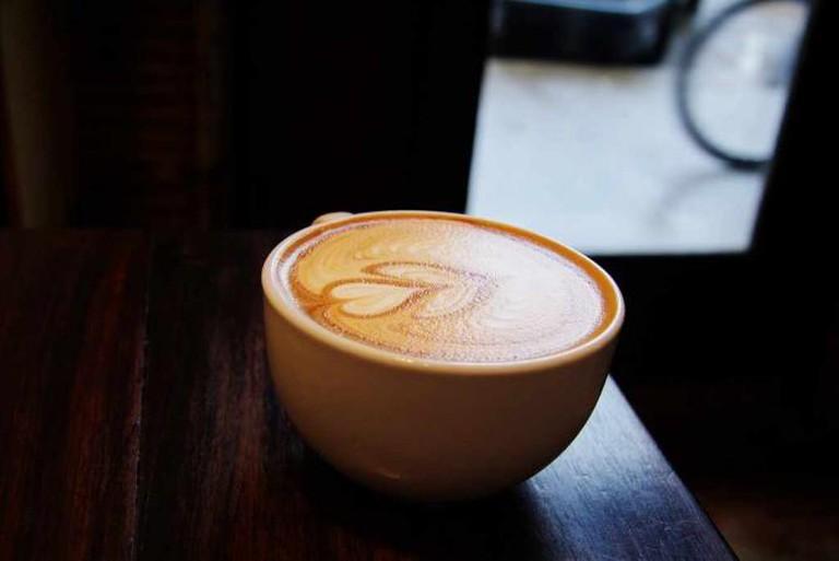 Latte at Coffeehouse Northwest