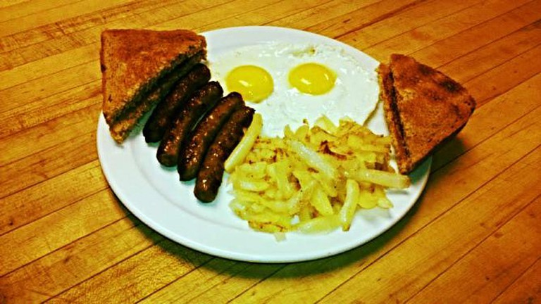 Breakfast at the Butchers Block | Courtesy of the Butchers Block Cafe
