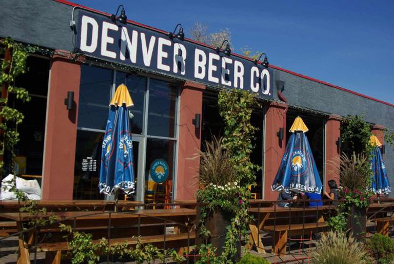 Denver Beer Company in RiNo