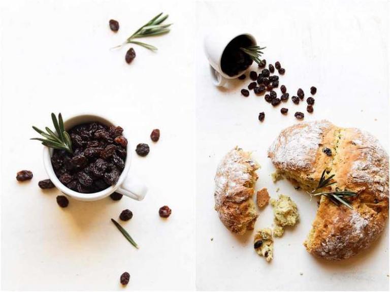 Bread with Rosemary & Raisins