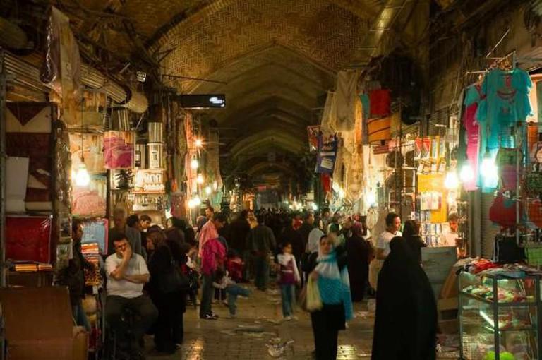 Tehran Bazaar | © Kamyar Adl/Flickr