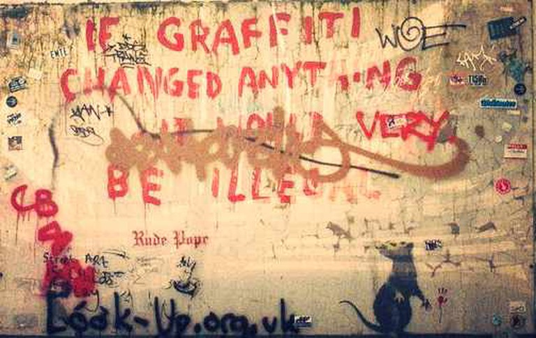 Protected Banksy Artwork | © Julian Osley