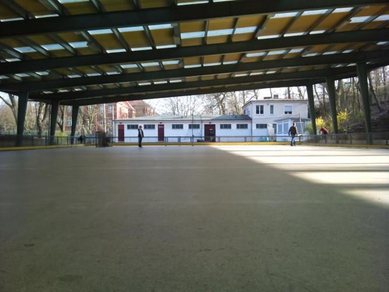 Beneath the Poststadion