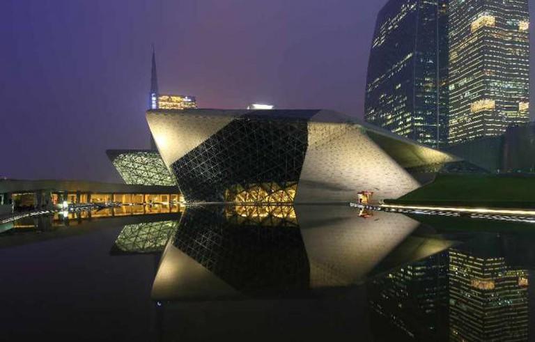 Guangzhou Opera House © Eugene Lim/Flickr