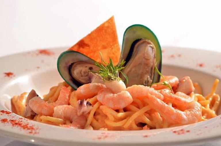 Pasta and Shellfish | Courtesy of Bellini