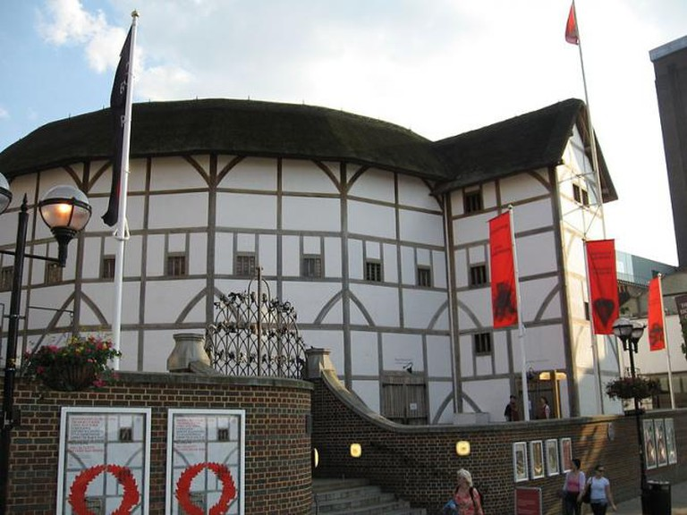 The Globe Theatre © Sourav Niyogi/WikiCommons