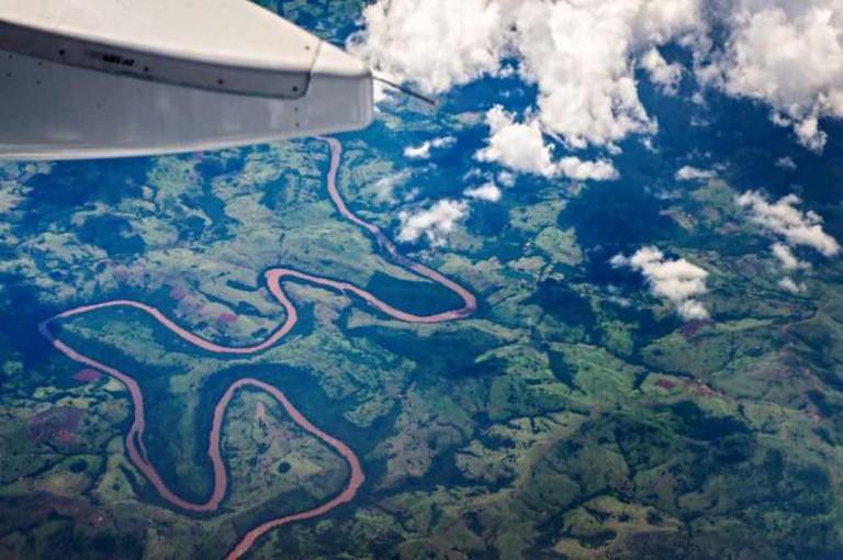 Bird's-eye view over Foz do Iguaçu © Deni Williams/Flickr