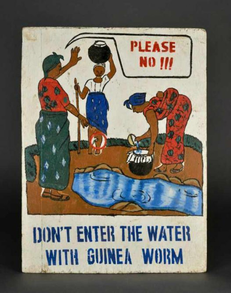 Guinea Worm | Courtesy of The American Museum of Natural History