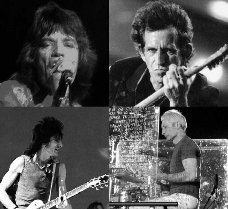 Stones Members Montage | © Wikipedia