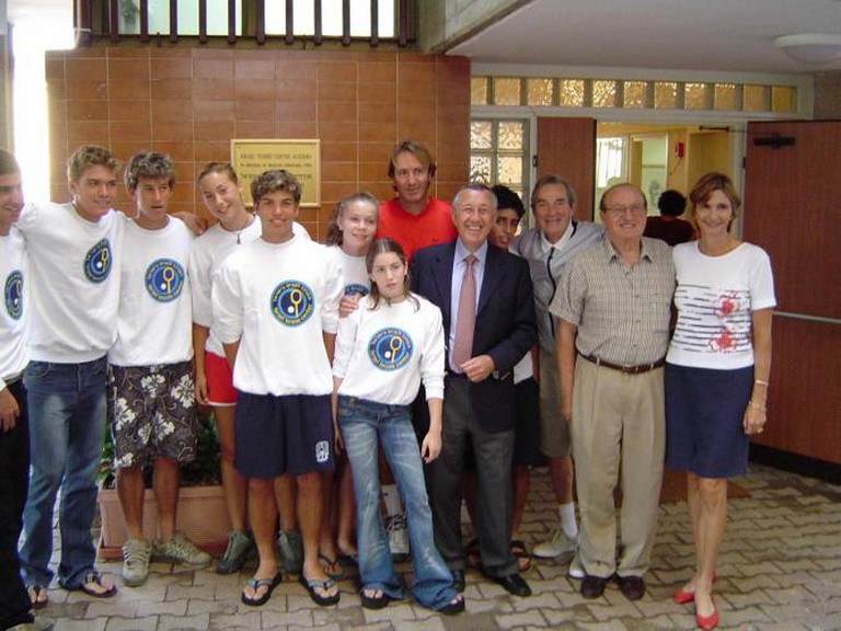 Opening of the Israel Tennis Center in Akko | © Courtesy Israel Tennis Centers