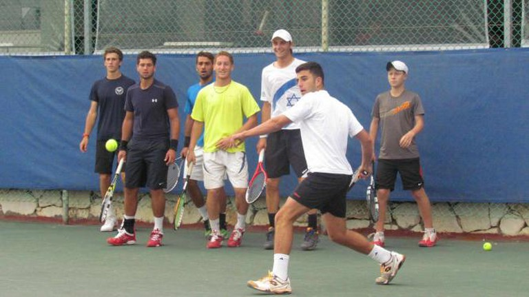 Training in the High Performance Program at the Israel Tennis Center in Ramat Hasharon | © Courtesy Israel Tennis Centers