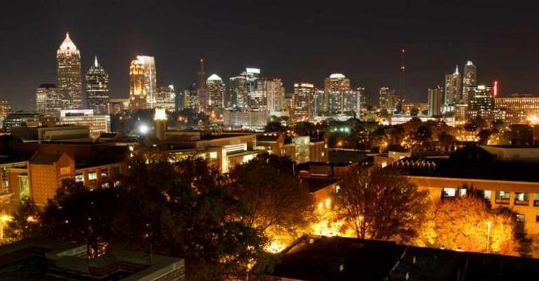 Midtown Atlanta by night | © Ethan Trewhitt/Flickr