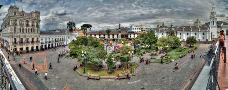 Plaza Grande   ©Ángel M. Felicísimo/Flickr