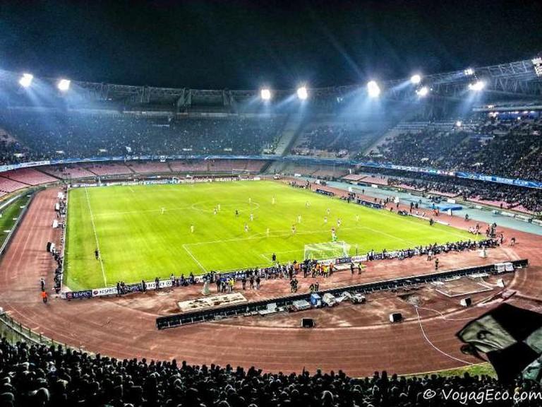 Stadium in Naples