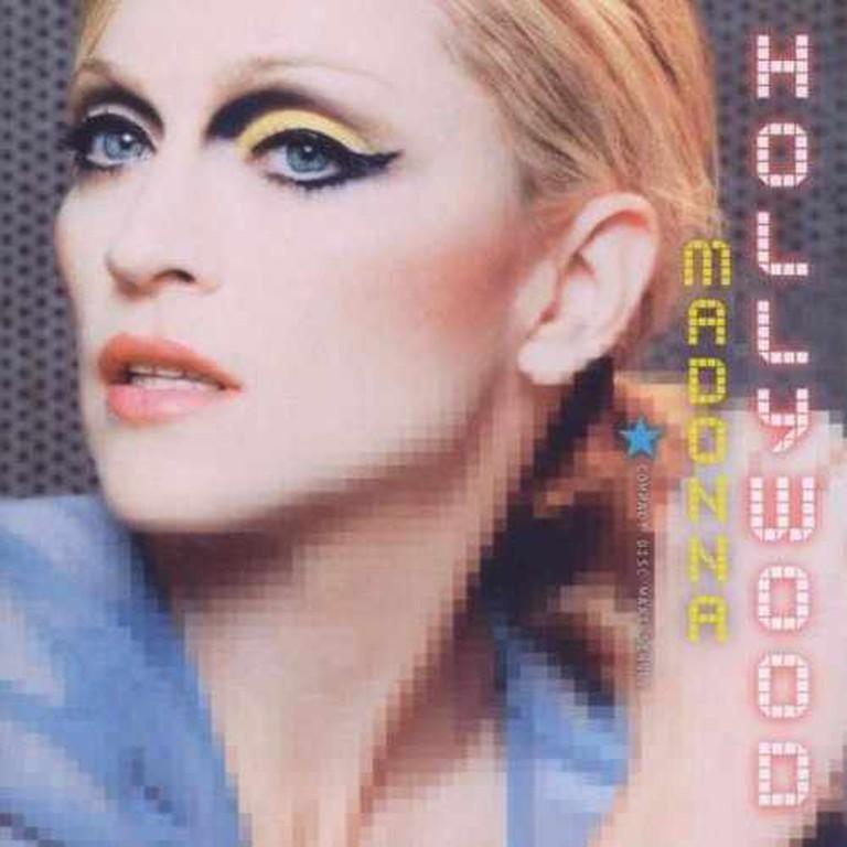 Madonna-Hollywood Album Cover