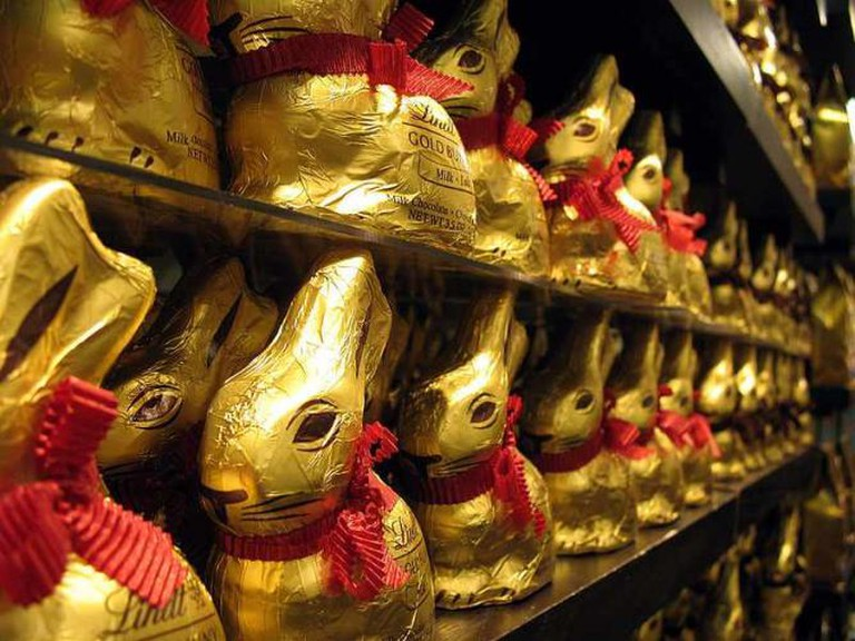 Lindt chocolate bunnies | © Tammy Green/WikiCommons