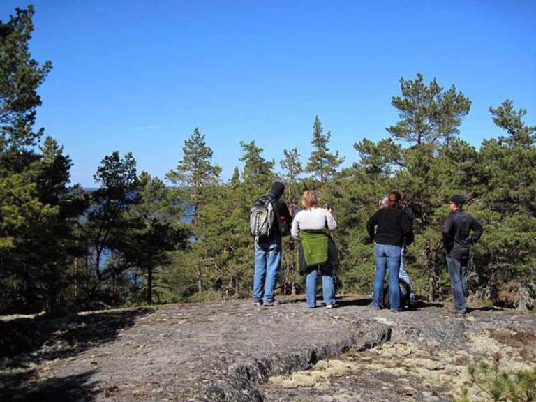 Hiking in Stockholm Archipelago