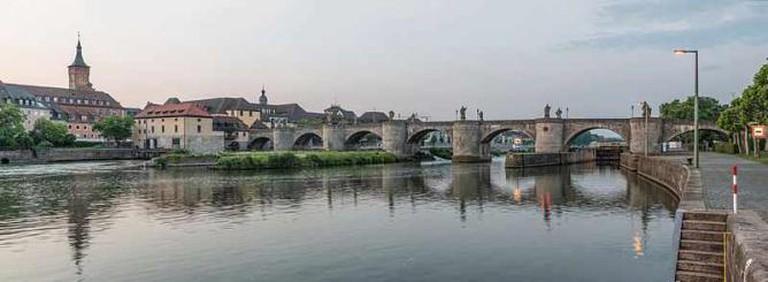 Alte Mainbrücke | © DXR/WikiCommons