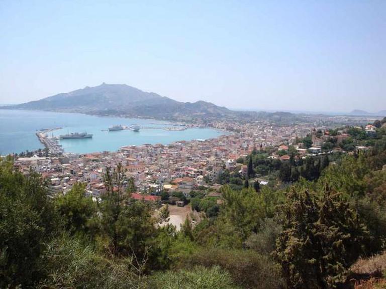 Panoramic view of Zakynthos | © Mich973/WikiCommons