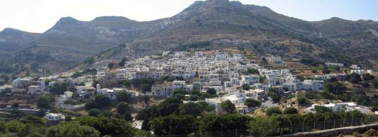 Panoramic view of Apeiranthos | © Yiannis Z./WikiCommons