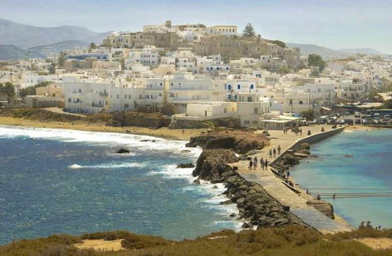 Panoramic view of Chora Naxos | © Sergio Alvarez/WikiCommons
