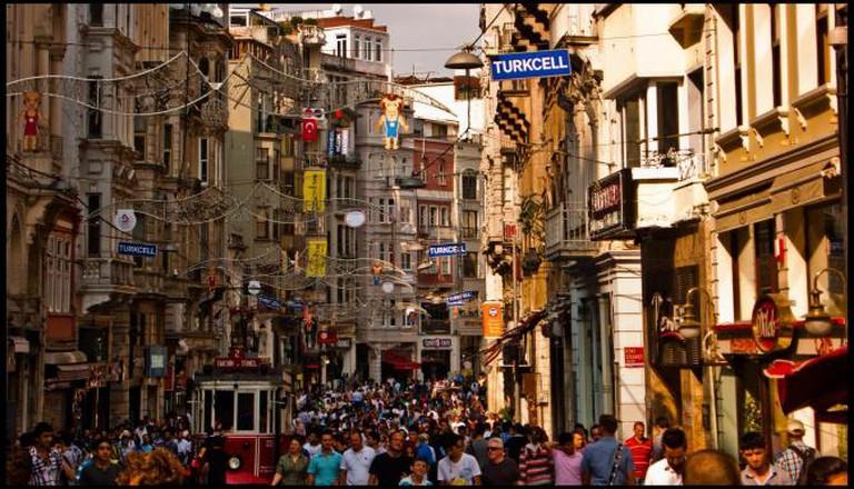 Istiklal Street, Istanbul | © Guillén Pérez/Flickr