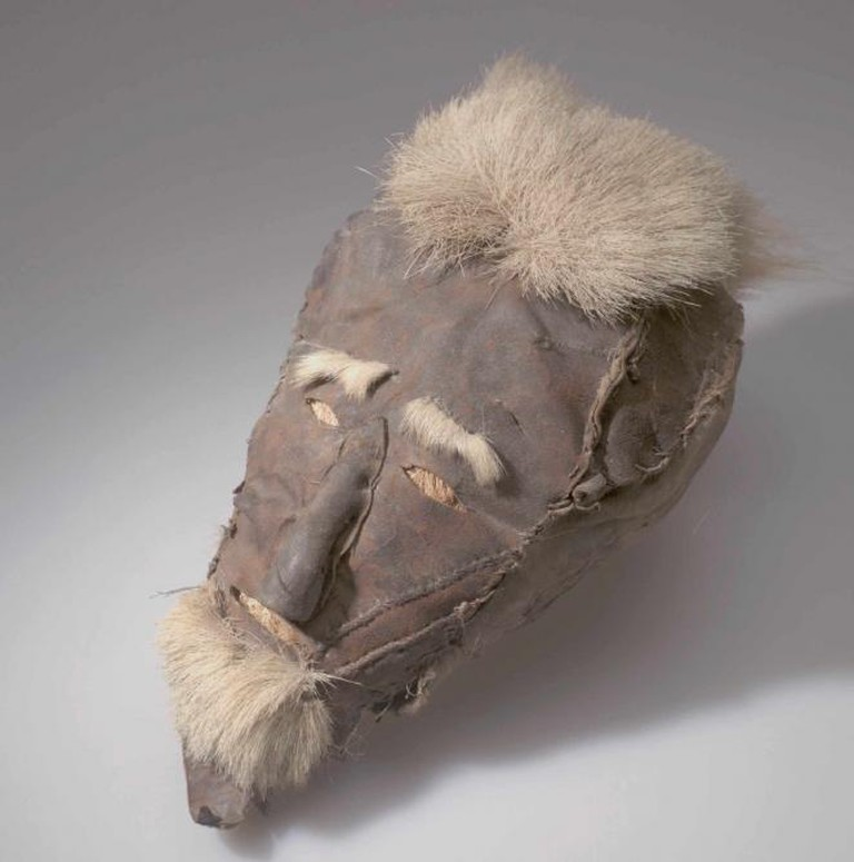 Spirit's Face | Chukchi peoples | Mouth of Anadyr, Marinsky Post, Siberia, Russia; 19th century | Fur, hide, wood, hair, sinew | ©American Museum of Natural History, 70 / 6325