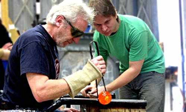 Bath Aqua Theatre of Glass glassblowing workshop