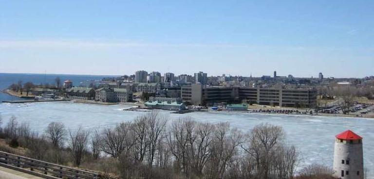 Kingston city skyline