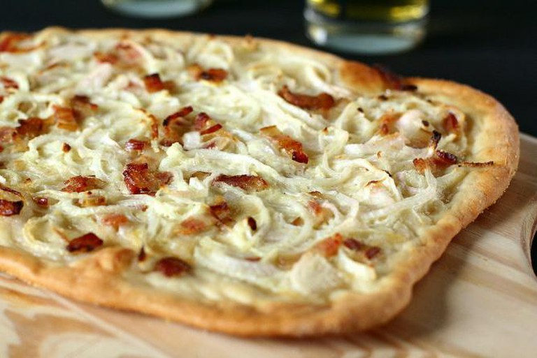 White pizza l © Lulu Durand/WikiCommons