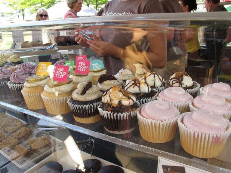 Vegetarian cupcakes   © Veg Food Fest