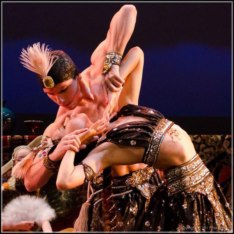 Vis and Ramin at the Tirgan Festival   © Mittimoe (Wikipedia Commons)