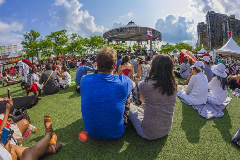 Harbourfront Centre Stage in the Round   © Harbourfront Centre/ Brian Medina