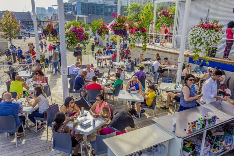 Try international foods by World Café   © Harbourfront Centre/Brian Medina
