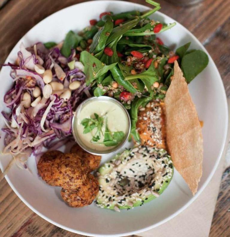 Salad @ The Good Life Eatery