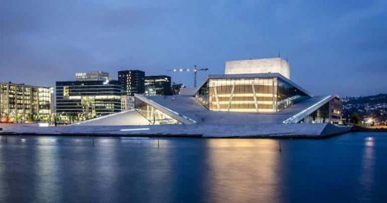 Oslo Opera House | ©Tobiasvde/Flickr