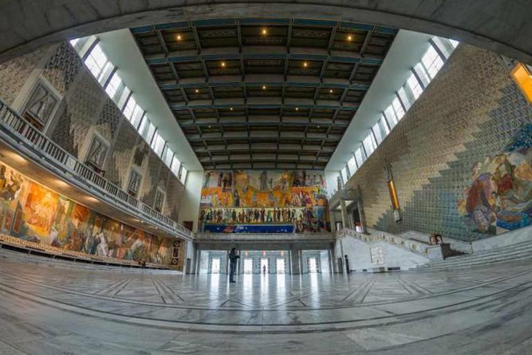 Inside Oslo City Hall